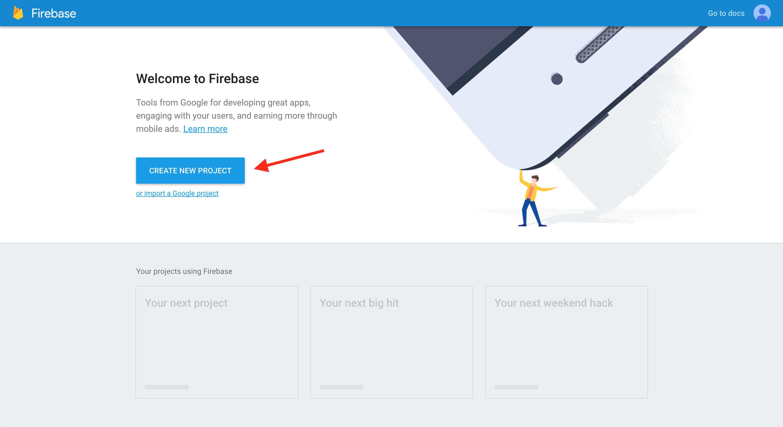 Firebase   Step 1: Setup your first Firebase application
